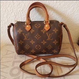 Handbags - LV Nano speedy